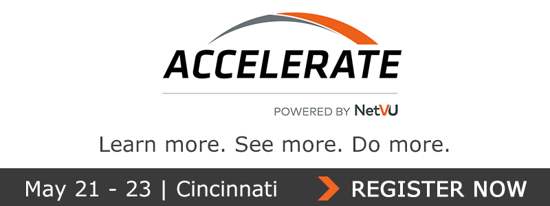 Join me at Accelerate, powered by NetVU